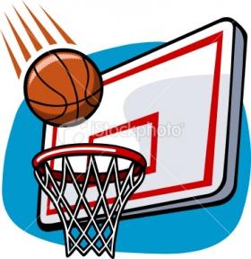 280x288 Clipart Basketball Hoop