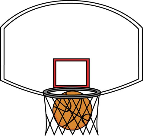 474x451 Sports Clipart Image of Black White Basketball With Legs Arms Face