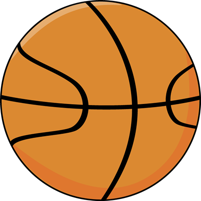 400x400 Basketball Ball Clip Art