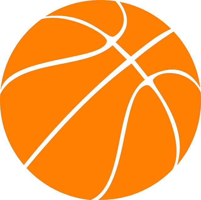 640x638 Basketball Clipart Vector