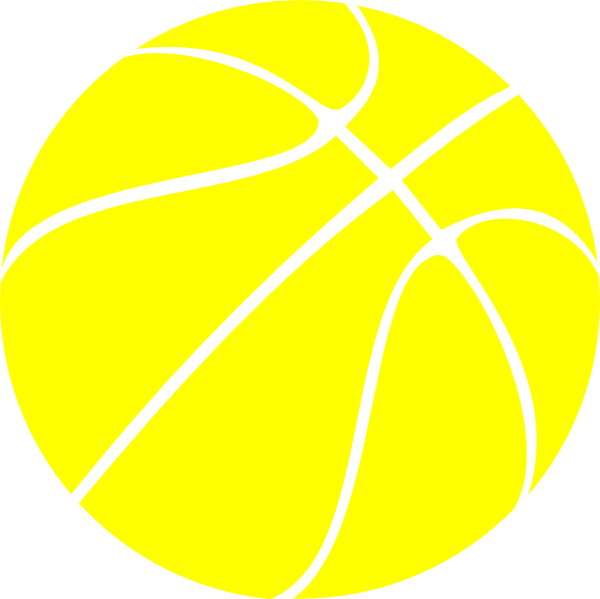 600x599 Yellow Basketball, Basketball, Btw Basketball Clip Art