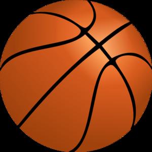 300x300 Basketball Borders Clipart