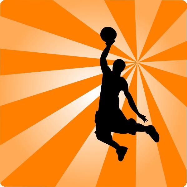 600x600 Basketball Page Borders