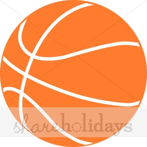 300x300 Orange Basketball Clipart Party Clipart Amp Backgrounds
