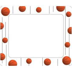 236x236 Basketball Borders And Frames Sports Balls Border Classroom