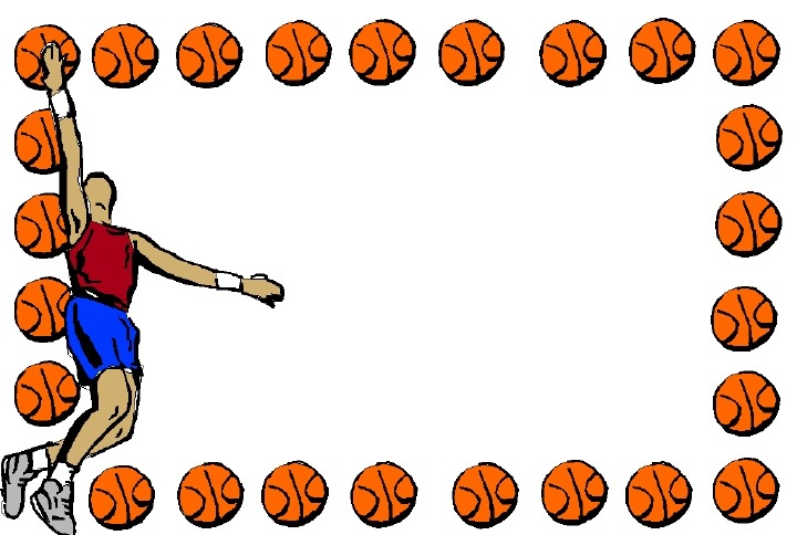 Basketball Border Free Download Best Basketball Border