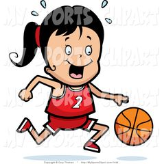 236x240 Basketball Borders Clipart