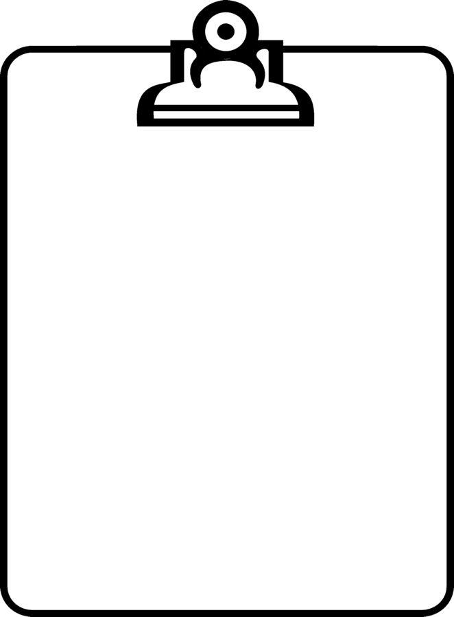 662x900 Pen clipart border