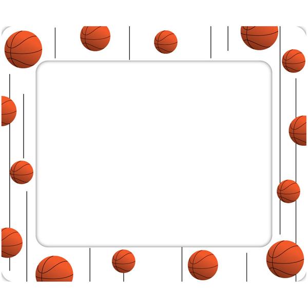 600x600 Basketball Border Clip Art
