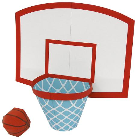 462x462 Basketball Game,Toys,Paper Craft,play,sports,game,Basketball,ring
