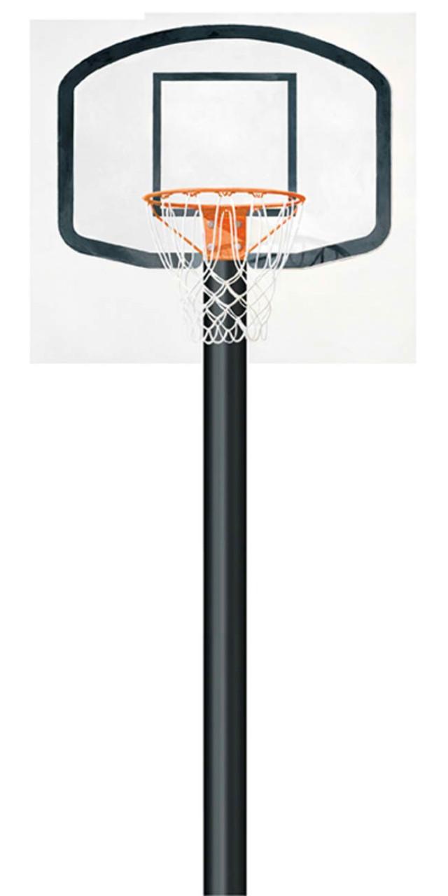 640x1280 Basketball Hoop Border Clipart Panda