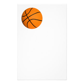 324x324 Basketball Stationery Zazzle