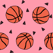 173x173 basketball fabric, wallpaper amp gift wrap