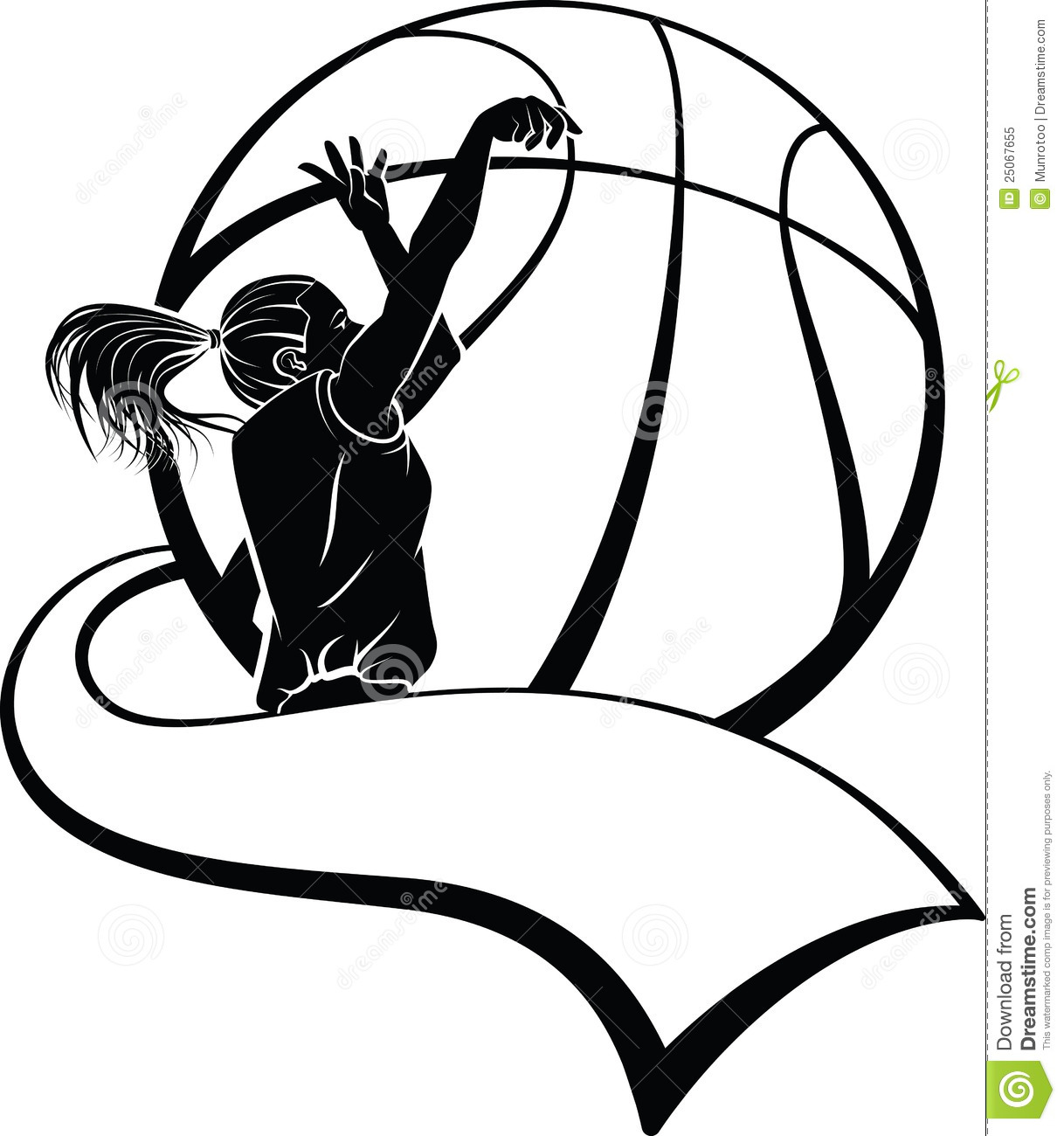 1218x1300 Girls Basketball Borders Clipart