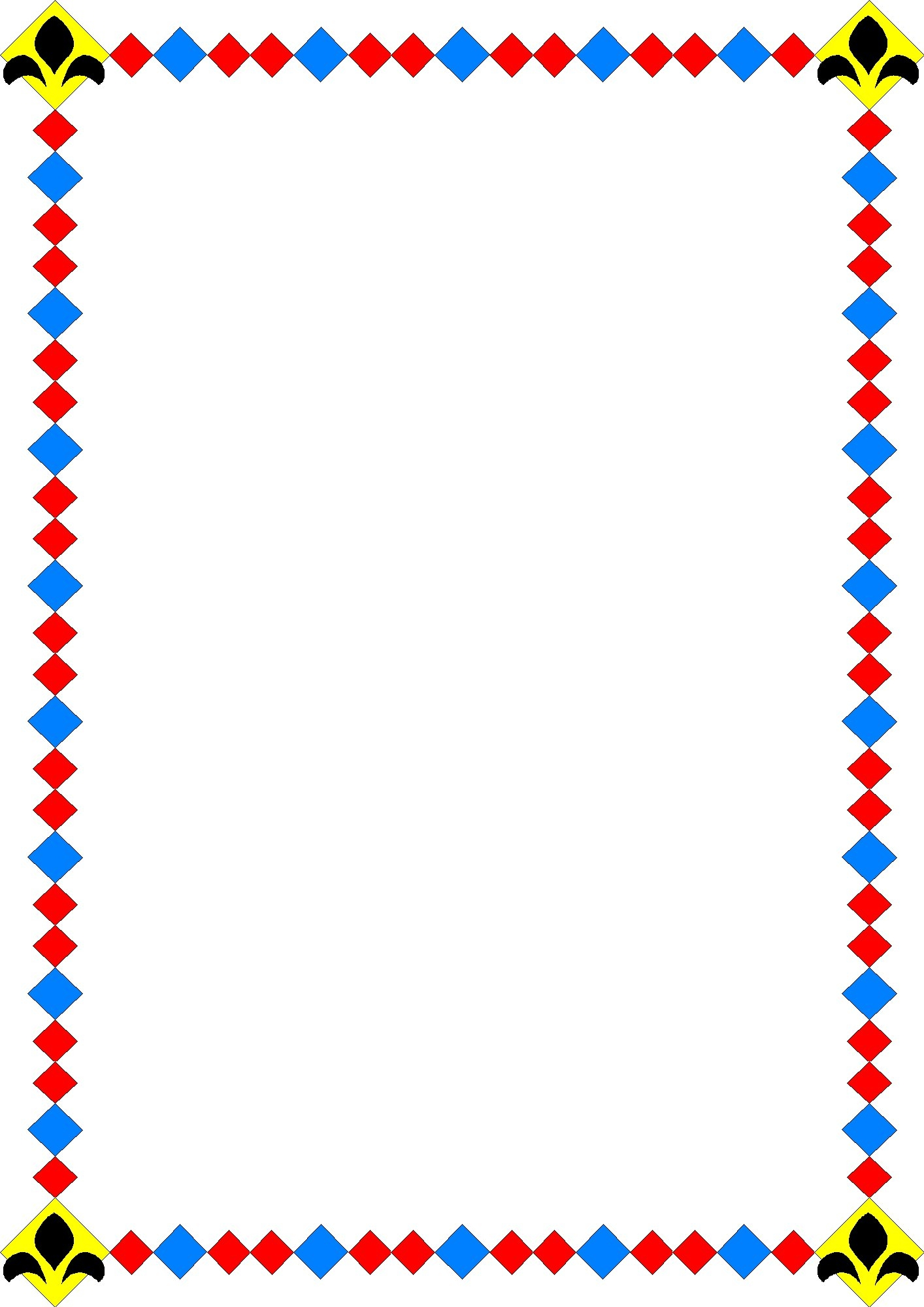 1414x2000 Borders Clipart Frames