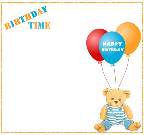 500x468 Birthday Frame Clipart, Explore Pictures