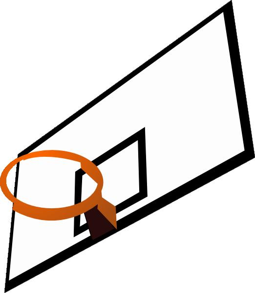 522x598 Basketball Rim Clip Art Free Vector 4vector