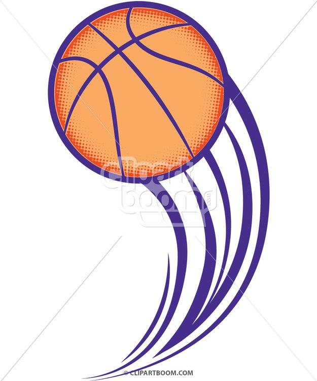 625x750 Vector Basketball Clip Art