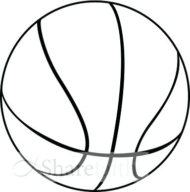 384x388 Clipart Basketball Basketball Sketch Search Clip Art Illustration