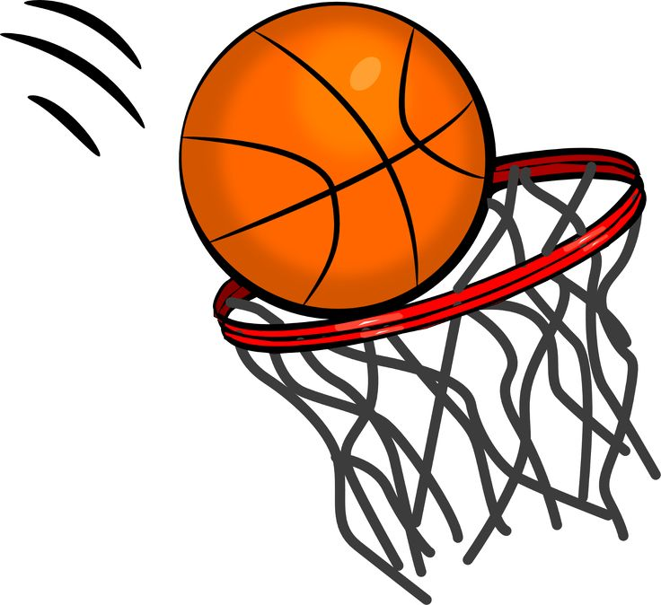 736x674 Free Basketball Clip Art Pictures