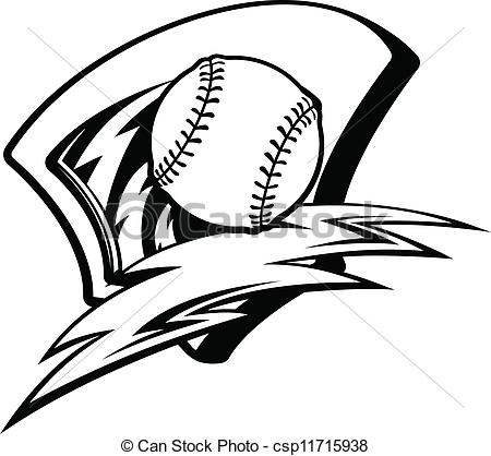 450x418 Baseball Clipart Black And White Clipart Panda