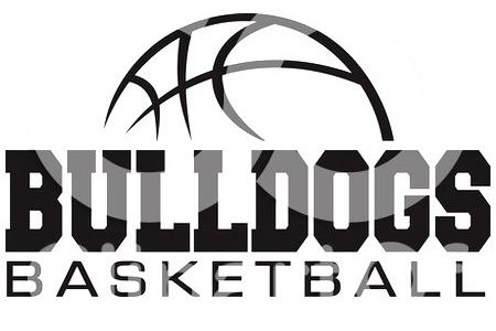 450x300 Bulldog Basketball Clipart