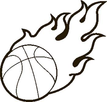 350x334 Basketball Player Clipart Black And White Free