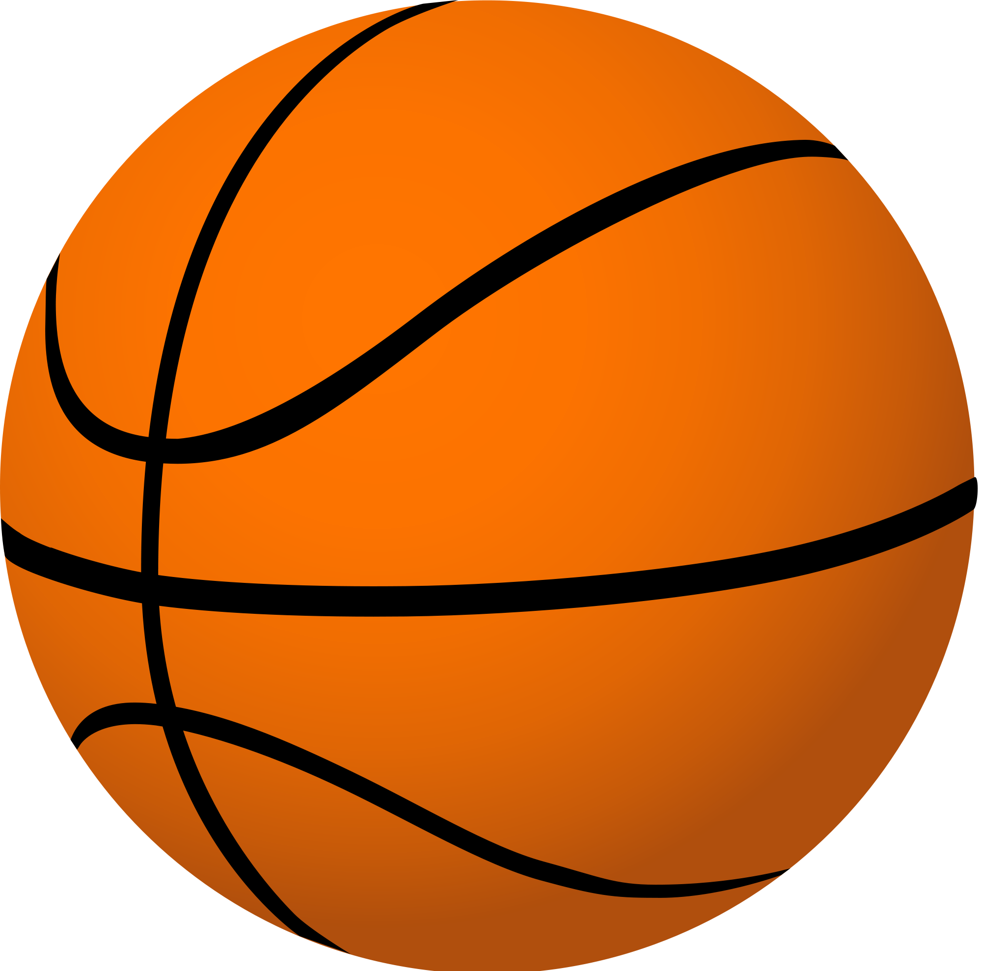 2000x1979 Basketball Player Clipart Black And White Free 5