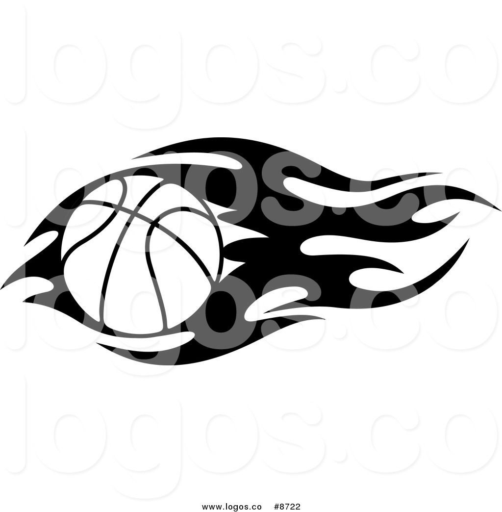 1024x1044 Free Basketball With Flames Clipart