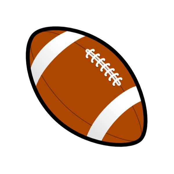 600x600 Football Clip Art Free Printable Clipart Images 5