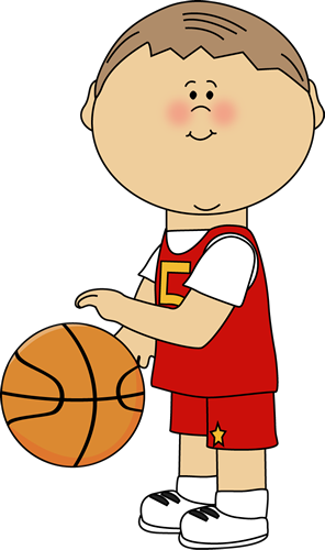 296x500 Basketball Player Clipart