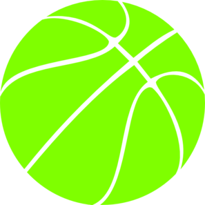 297x297 Black Basketball Clip Art