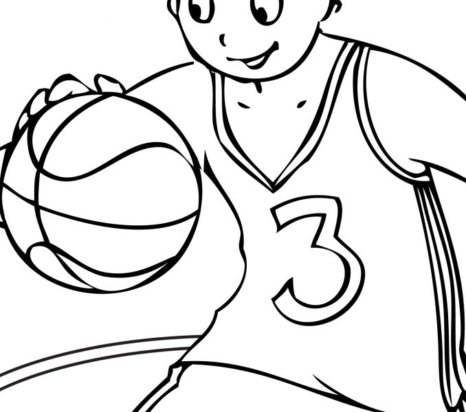 678x600 Basketball Coloring Pages Best Coloring Pages