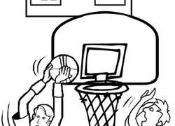 250x180 Basketball Coloring Pages amp Printables