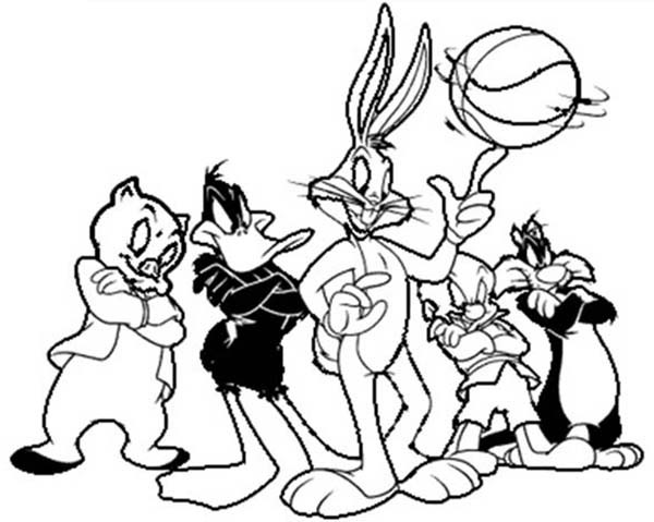 Basketball Coloring Pages | Free download best Basketball Coloring ...