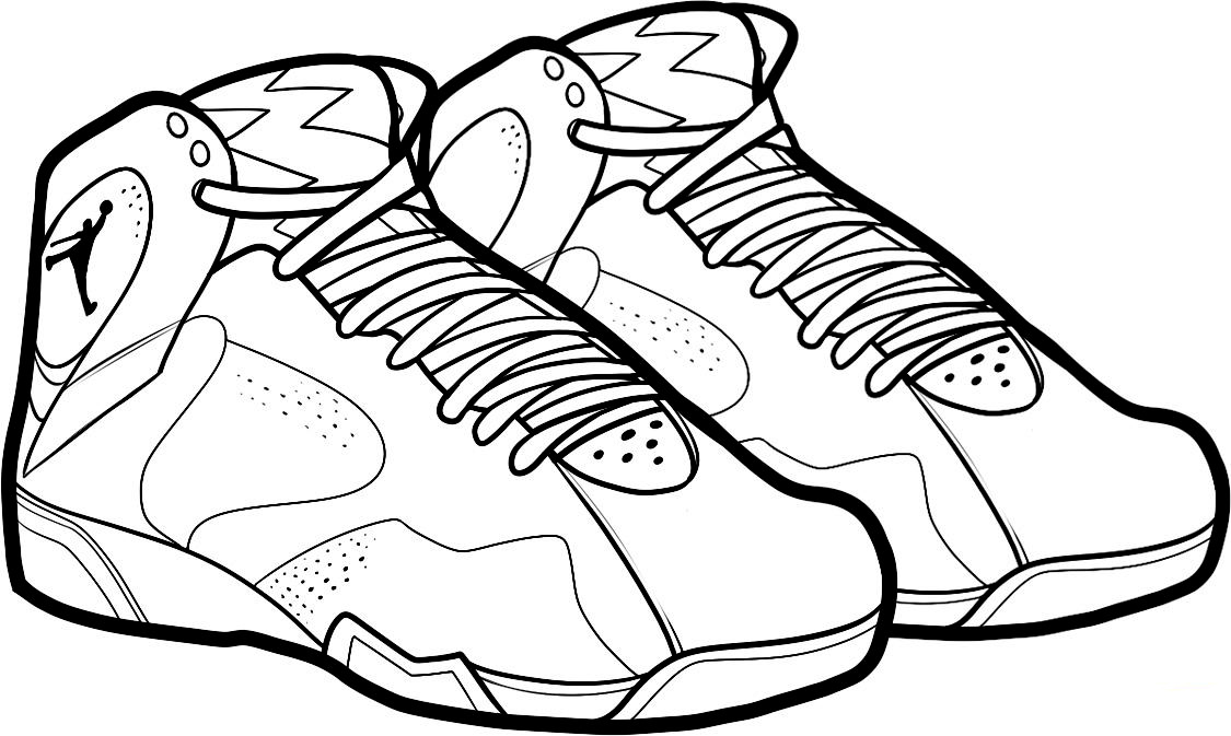 1125x673 shoe coloring pages