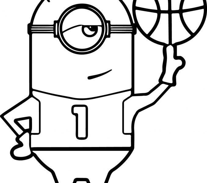 678x600 Basketball Coloring Page Best Coloring Pages