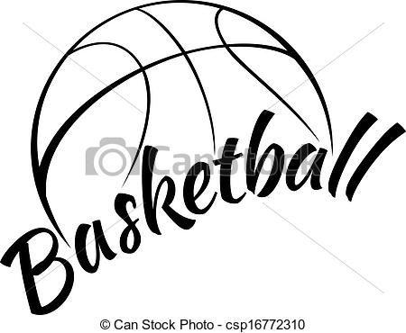 450x370 Cool Basketball Clipart