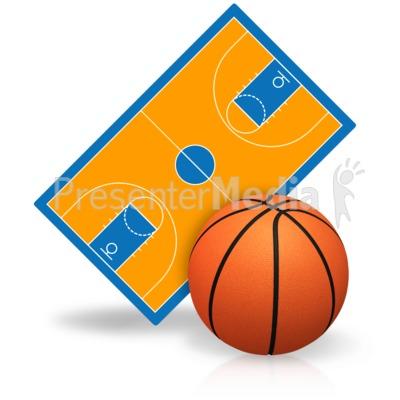 400x400 Basketball Court