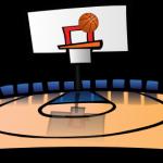 150x150 Basketball Court Clipart