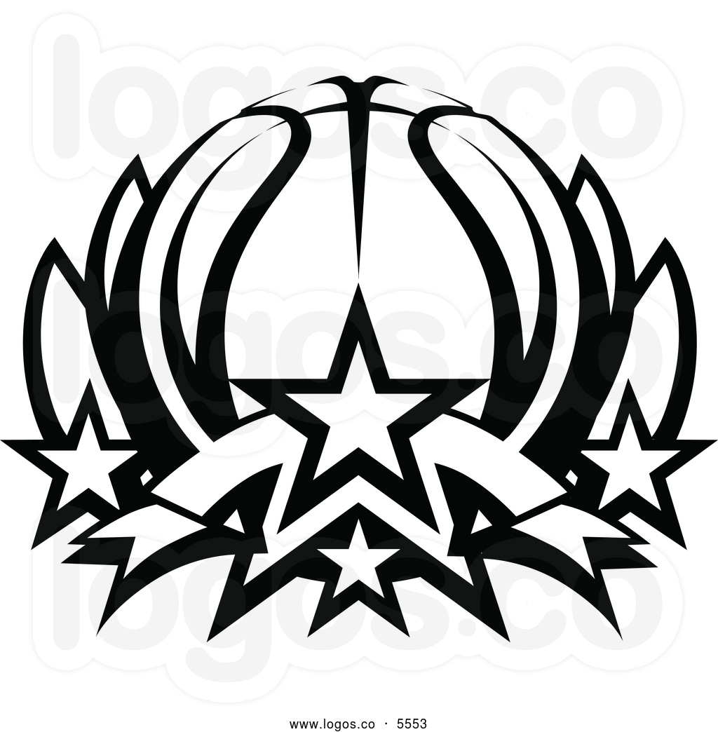 1024x1044 Black White Basketball Court Clipart