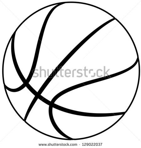 450x470 Outdoor Basketball Court Clipart