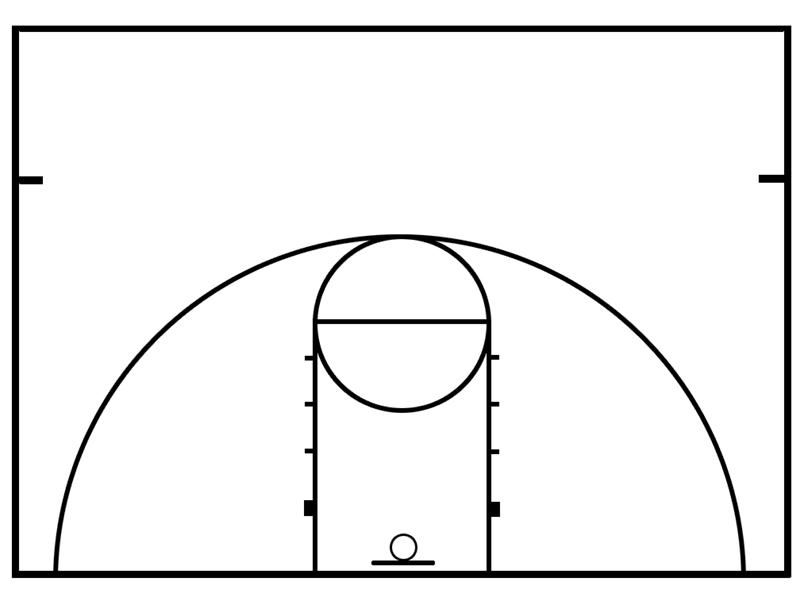 800x599 Photos Of Basketball Court Clip Art 3