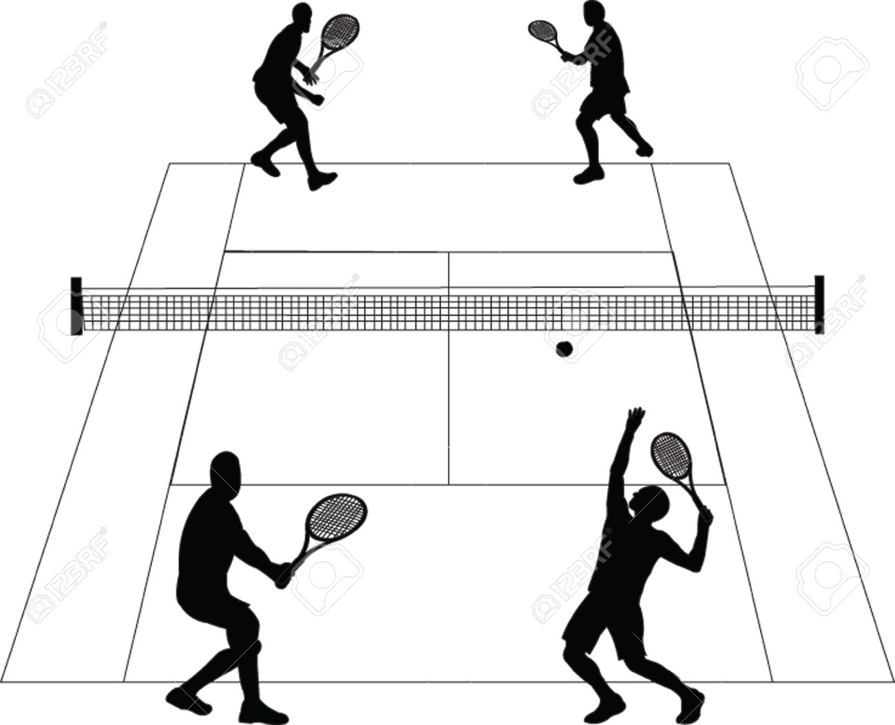 1300x1053 Court Clipart Black And White
