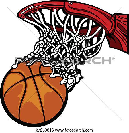 450x465 Basketball Clipart