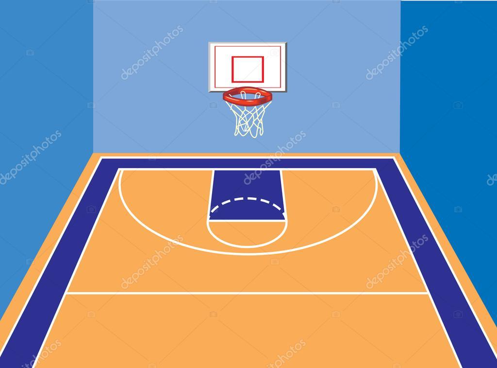 1024x757 Basketball Court Stock Vector Kk Inc