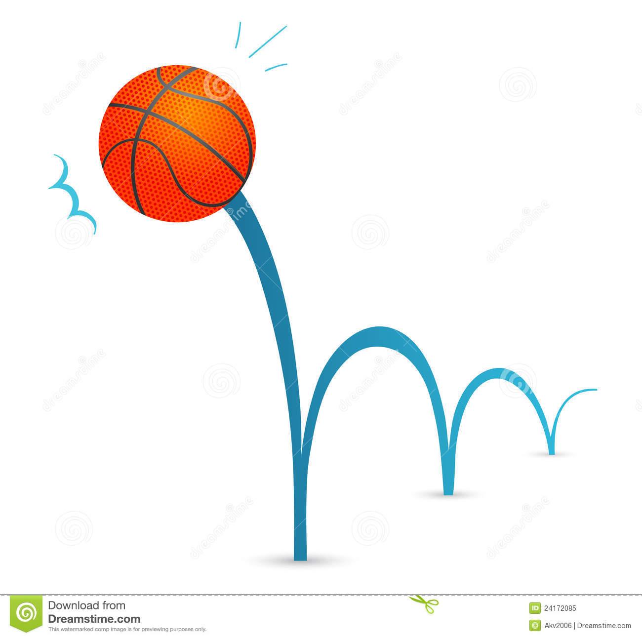 1300x1294 Bouncing Basketball Clipart