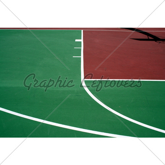 325x325 Empty Basketball Court Gl Stock Images