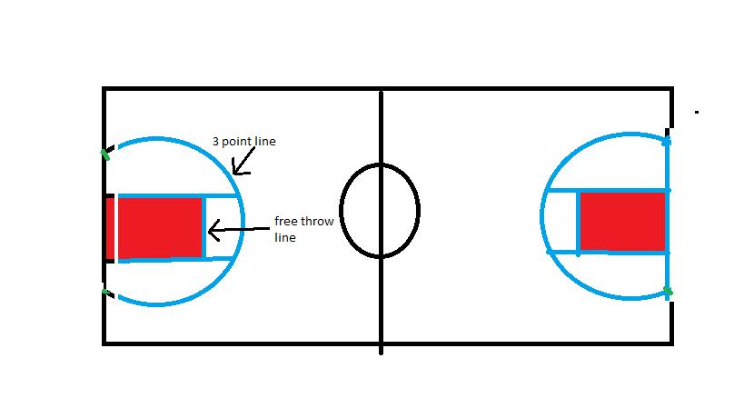 819x460 Basketball Court Playin' On Purple