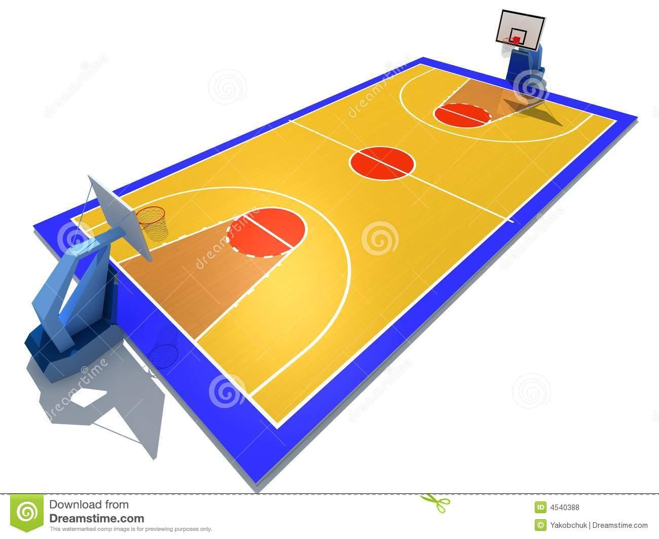 1300x1063 Basketball Court Clipart Clipart Panda